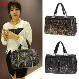 2016 New Fashion Elegant Handbags Women Lace Bags Style Party Leather Handbag Shoulder Bag Clutch Messenger Bag Black Gold Silver SV012146
