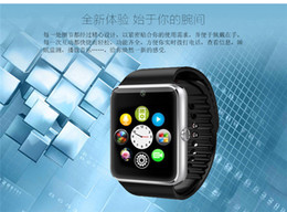 Wholesale superior GT08 Bluetooth Smartwatch Smart Watch for iPhone IOS Samsung Galaxy Android Smartphone Pedometer Sleep Monitoring NFC