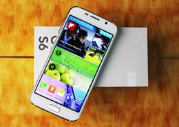 Wholesale 1 S6 MTK6582 Quad Core Android phone inch MP camera GB RAM Smart mobile cell phone G show G LTE unlocked DHL Free