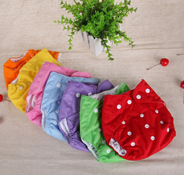 free shipping 20PCS New one-size fit reusable diapers washable cloth diaper all in one diaper cover diaper nappy