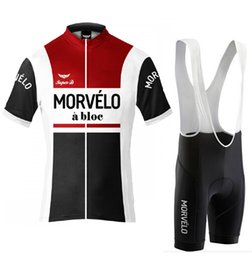 2015 Morvelo a Bloc Cycling Jersey short sleeves Jersey Bicycle Breathable Racing Bicycle Clothing Quick-Dry Lycra GEL Pad Race MTB Bike