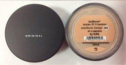 Wholesale Top quality Makeup Minerals Original Foundation SPF Foundation g Fair Medium Fairly Light Medium Beige