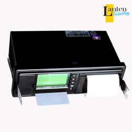 Wholesale gps tracker car black boxes way digital data recorder tachograph with LCD screen printer work with fuel sensor car dvr SL25