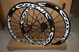 Wholesale SALE mavc carbon wheelset clincher tubular mm bicycle wheels C Road bike carbon wheelset and free quick release and brake pads