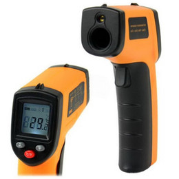 Wholesale new arrival Brand New Non Contact LCD Digital IR Infrared Thermometer Temperature With Laser Gun C H4325