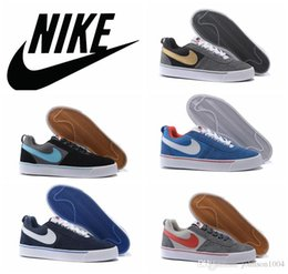 NIKE HACHI LOW Gray gold skate shoes fur leather nike high top blazer skateboarding shoes outdoor casual walking shoes dark blue white