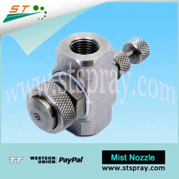 Wholesale Hot sale adjustable flow rate SS air atomizing nozzles siphon type