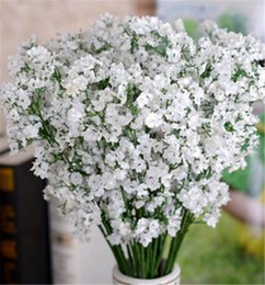 Wholesale Gypsophila Baby s Breath Artificial Fake Silk Flowers Plant Home Wedding Decoration
