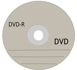 Wholesale DHL Box Set Blank Discs Recordable Printable DVD R for DVD Movies TV series DVDR Disc Disk