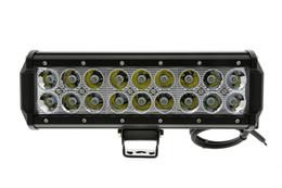 9INCH 54W CREE LED LIGHT BAR FLOOD FOR OFF ROAD 4WD BAR LED LIGHT BAR FOR ATV UTV JEEP LED WORK LIGHT BAR