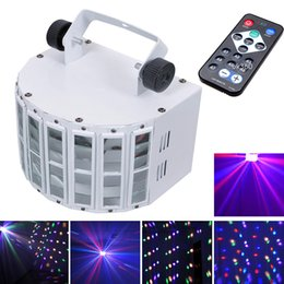 New DMX512 Control 30W Digital LED Stage Lights RGBW 6 Channel Voice-Activated Function Laser Projector Disco DJ Bar home lights 110V-240V