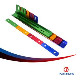 2017 marcos de carreras marco de la matrícula del soporte del marco de licencia Kit V.1 Placa Relocator PQY Racing- NUEVO sin logo alta calidad PQY-LPF91 marcos de carreras en venta