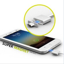 Metal Magnetic Cable High Speed Charger & Data Sync Cables For Micro USB Android Phone 2.4A Charging Adapter