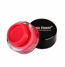 Сексуальная музыка для продажи-Оптово-Brand макияж Maquiagem 3D Sexy Музыка цветов на воздушной подушке 24h Продолжительный Блеск для губ водозащита 10 цветов с губ кисти