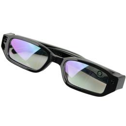 Mini HD Spy Camera Glasses Hidden Eyewear DVR Video Recorder Cam Camcorder Black Micro SD TF card 720*480