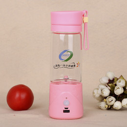 Wholesale 100PCS LJJL10 Portable Mini fruit vegetable Juice Blender With USB Charger Electric Lemon Gifts Water Carry Cup