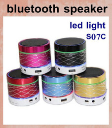 S07C bluetooth speaker wireless mini speaker fm radio usb sd card reader speaker micro speaker music play portable speaker for ipad MIS012
