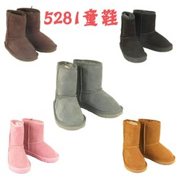 Wholesale New Classic boots Winter waterproof children s boots warm winter boots girls boys kids snow boots Australian snow boots glitter2009