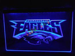 Wholesale LD054 b Philadelphia Eagles Football Neon Light Sign home decor shop crafts led sign