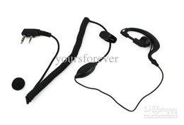 Wholesale Lowest earpiece PIN Curl Line Earpiece for HYT TYT BAOFENG UV5R S TH D7 F6 Radio C004