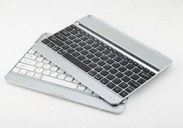 Wholesale Aluminum Wireless Bluetooth Keyboard for iPad Apple IOS System Bluetooth interface standard