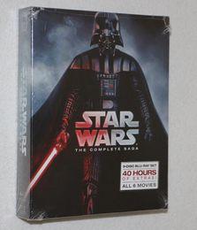 Wholesale Blu ray Movie Star Wars The Complete Saga Season disc US version Region one Via DHL