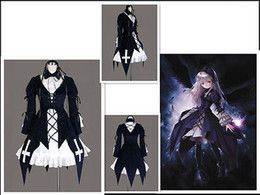 Wholesale Suigintou Cosplay Costume - 2015 New Arrival Limited Fantasias Femininas Fantasia Infantil Halloween Costumes for Rozen Maiden Suigintou Cosplay Costume