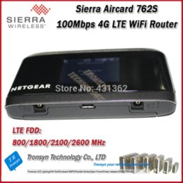 Wholesale New Original Mbps Sierra Wireless Aircard S Unlock Best G WiFi Router Support LTE FDD MHz