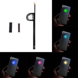 Wholesale LED Intelligent Night Cool Light Glow Shine Logo For iPhone Glowing Logo Mod Kit Replacement