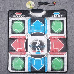 Wholesale Lose weight Indoor sports Non Slip Dancing Step Dance Mat Pads blanket to PC with USB Dance mat F1351