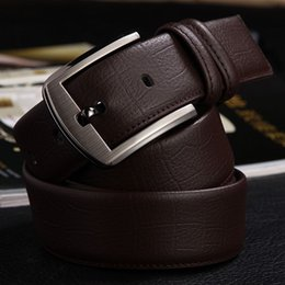 Wholesale 2016 new hip brand buckle L designer belts for men gg women genuine leather gold cinto belt Men s