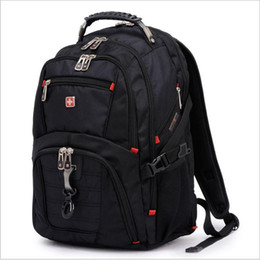Wholesale 2015 New Swiss win famous brand Fashion Backpacks Military quot Laptop bags Swiss gear Backpack Men s Luggage Travel bags Sports School bags