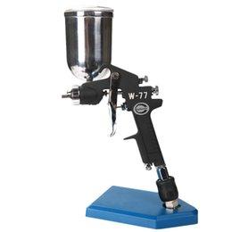 Wholesale Valianto Large Nozzle Size Gravity Feed HVLP Air Paint Spray Gun W G Auto Paint Supplies Gold Automotive Paint