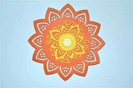 Scrapbook DIY album Etching die cut stencils Die cut flowers Decorative borders DM-861