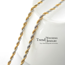55cm Stainless Steel Chain Jewelry Findings Lobster Clasp Long Metal Rope Chain (VC-015)