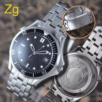 Wholesale Luxury dive automatic black Mens Watch Professional Planet Ocean Co Axial Dive Wristwatch Men Watches
