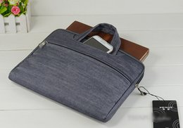 Wholesale 11 Inch Notebook PC Tablet iPad Laptop Sleeve Jean Case Cover Bag For Macbook