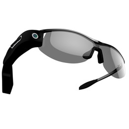 Wholesale 3g g action CCTV video camera mobile phone App connect wireless Police smart glasses