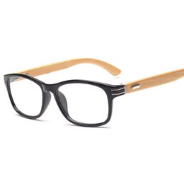 Reading Prescription Myopia Bamboo women men optical frame vintage Eyeglasses glasses Frame Eyewear oculos K13