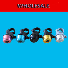 Wholesale Aluminum Alloy Bicycle Bells Sound Resounding Bike Horns Bicycle Accessories