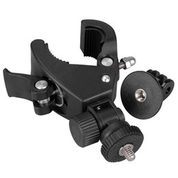 Wholesale Camera Accessories Bike Bicycle Motorcycle Handlebar Handle Bar ATV Mount With Tripod Adapter For Gopro Hero