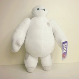 Dropshipping plush en Ligne-Big Hero 6 Robots Baymax Hands Handstable Peluches Peluche Animaux Jouets 12inch 30CM Toy Gift Christmas Dropshipping