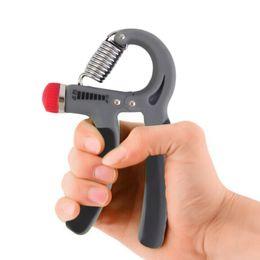 Descuento ejercitador de agarre 10-40 Kg Adjustable Heavy Grips Mano Gripper Gym Power Fitness Ejercitador de la mano Grip Wrist Forearm Strength Training Hand Grip