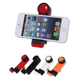 Promotion vent mount gps Universal Car Air Vent Mount Mobile Holder Téléphone GPS 360 degrés de rotation pour iPhone 6 6+ 6 Plus 5 5S 5C Samsung Galaxy S4 S5 NOTE 3/4 MINI f