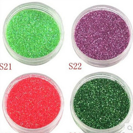 Wholesale Manufacturers selling cherry red glitter The peony red glitter The water pink glitter powder Bright red glitter powder