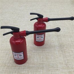 Wholesale 1PC Layers Creative Fire Extinguisher Shaped Herbal Herb Tobacco Grinder Pollen Crusher New Fashion metal grinder