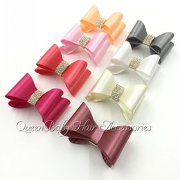 New Arrival Hot Selling Hair Bows Flat Bow Hard Bow Boutique Hair Accessory Flat Back 24pcs lot