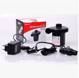 Wholesale Two Way electric air pump inflatable pump Compressor Car compresor de aire for Inflatable mattress and inflatable boats