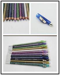 12pcs set 12 color Glitter waterproof eyeliner pencil brand the pencil eyeliner set #12-sc