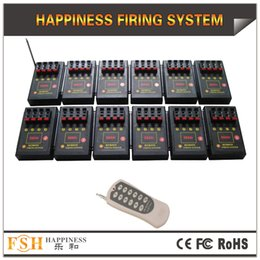 FedEX DHL Free shipping,48 cues CE Certificate pyrotechnic fire system,remote control fireworks firing system, happiness system(DB04r-48)